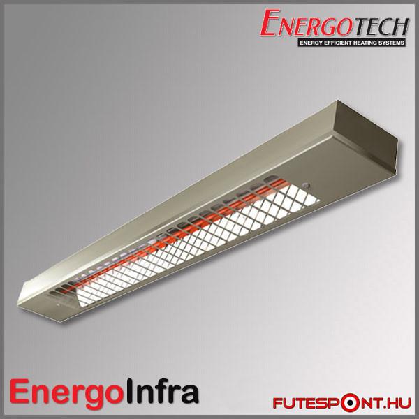 EnergoInfra EIR1000 - 117x7,5x4 cm - 1000W - inox (rozsdamentes acél)