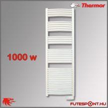 Thermor Corsaire 1000W - elektromos törölközőszárító termosztáttal, fehér