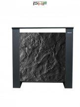 Climastar ETNA - 1500W - hordozható kerámia elektromos fűtőpanel- fekete pala