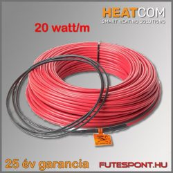 Heatcom fűtőkábel 20W/m - 400W (20m)