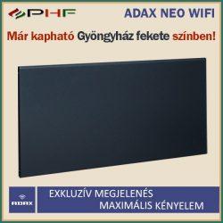 ADAX NEO WIFI - 2000W - elektromos fűtőpanel - Gyöngyház fekete