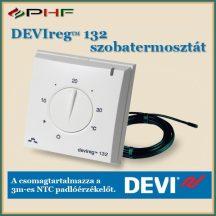 DEVIreg™ 132 - padló és levegőérzékelővel