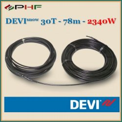 DEVIsnow™ 30T (DTCE-30) - 30W/m - 78m - 2340W