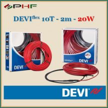 DEVIflex™ 10T (DTIP-10) - 10W/m - 25m - 241W