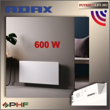 "ADAX NEO WIFI ""H"" - 800W - elektromos fűtőpanel - fehér (RAL9016)"