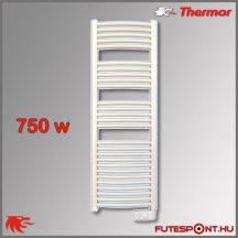 Thermor Corsaire 750W - elektromos törölközőszárító termosztáttal, fehér