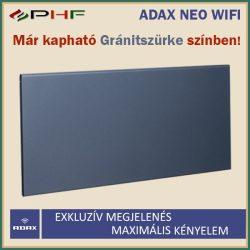 ADAX NEO WIFI - 1200W - elektromos fűtőpanel - Gránitszürke