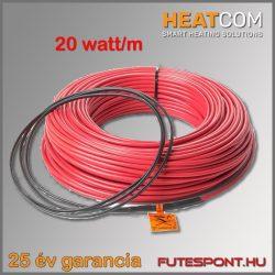 Heatcom fűtőkábel 20W/m - 2450W (130m)