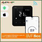 BVF 801 WiFi Okos termosztát Fekete