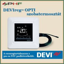 DEVIreg™ OPTI termosztát ELKO kerettel