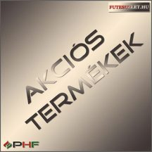 Climastar Smart Pro 3in1 1000W - programozható kerámia elektromos fűtőpanel fekete pala színben