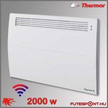 Thermor Soprano Sense2 2000W - elektromos fűtőpanel - programtermosztát - jelenlétérzékelő