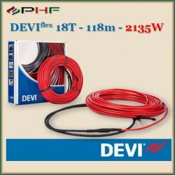 DEVIflex™ 18T (DTIP-18) - 18W/m - 118m - 2135W