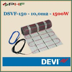 DEVIheat - DSVF-150  - 0,5x20m - 10m2  - 1500W
