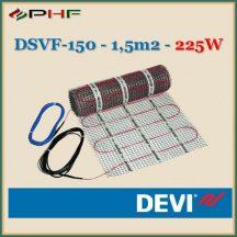 DEVIheat - DSVF-150  - 0,5x3m - 1,5m2  - 225W
