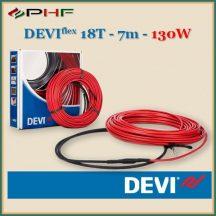 Deviflex 18T fűtőkábel - 7m, 130W