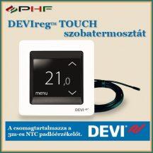 DEVIreg™ Touch termosztát  - padló -és levegőérzékelővel