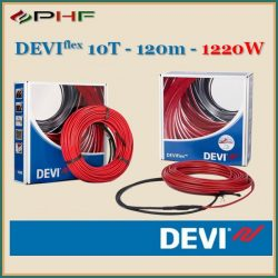 DEVIflex™ 10T (DTIP-10) - 10W/m - 120m - 1220W