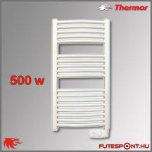 Thermor Corsaire 500W - elektromos törölközőszárító termosztáttal, fehér