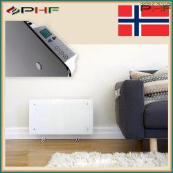 """Adax Clea Wifi """"H"""" - elektromos fűtőpanel - 800W - fehér v.fekete"""