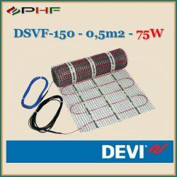 DEVIheat - DSVF-150  - 0,5x1m - 0,5m2  - 75W
