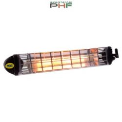 MO-EL Fiore infra hősugárzó 1200W, kapcsolóval, vezetékkel - M766-N (fekete)