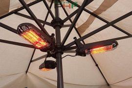 MO-EL Lucciola infra hősugárzó 1200W, kapcsolóval, vezetékkel - M797