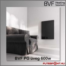 BVF PG 600 - 600W edzett üveg infrapanel 60x90x3 cm - fekete