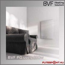 BVF PG 600 - 600W edzett üveg infrapanel 90x60x3 cm - fehér