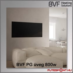 BVF PG 800 - 800W edzett üveg infrapanel 120x60x3 - fekete
