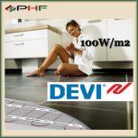 DEVIcomfort - DTIR 100W/m2 - kéteres fűtőszőnyeg