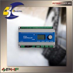 ETO2 -4550 2 zónás kültéri burkolatfűtés vezérlő, érzékelő nélkül