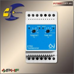 ETR2-1550  mechanikus kültéri burkolatfűtésvezérlő, érzékelő nélkül