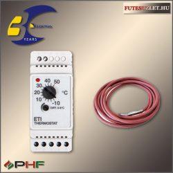 ETI-1551 mechanikus termosztát csőkísérő fűtéshez, szenzorral