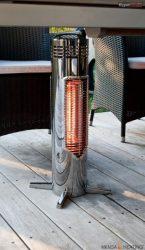 Mensa Heating Omnis teraszfűtés - 400W - króm