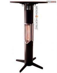 Mensa Heating Statio bárasztal - 700W - fekete -asztallap nélkül