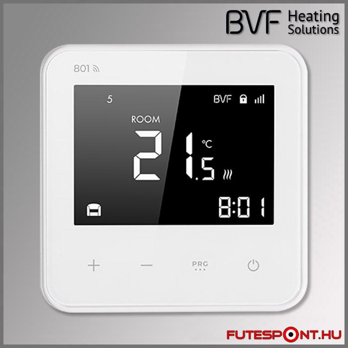 BVF duplaszenzoros termosztát padlószenzor