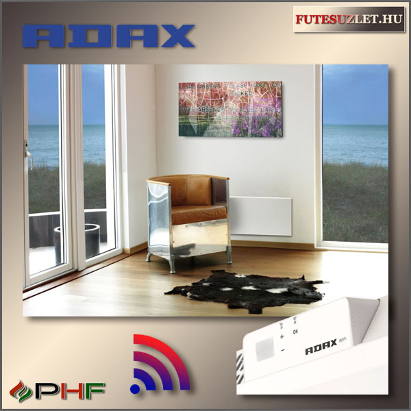 Adax Neo wifi norvég fűtőpanel