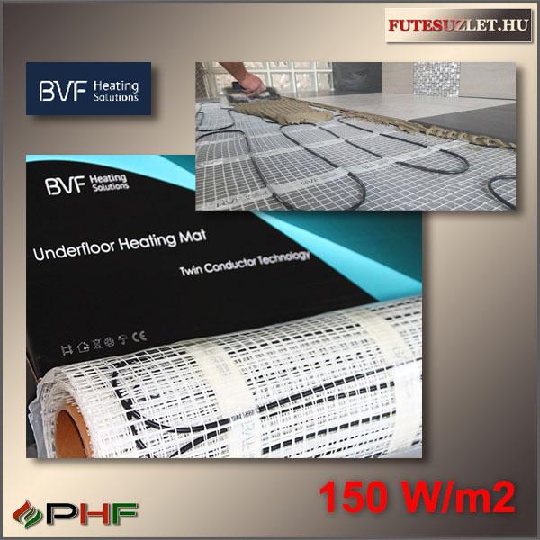BVF fűtőszőnyeg 100W/m2 elektromos padlófűtéshez hidegburkolat alá