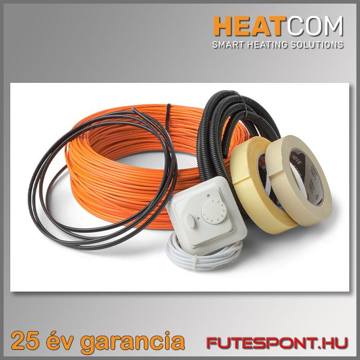 Elektromos padlófűtés fűtőkábellel